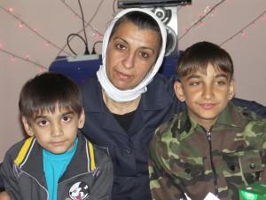 Земфира и ее дети Вася и Руслан, 08.06.2013г