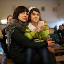 Счастливая встреча осужденных мам и детей состоялась в минувшую субботу